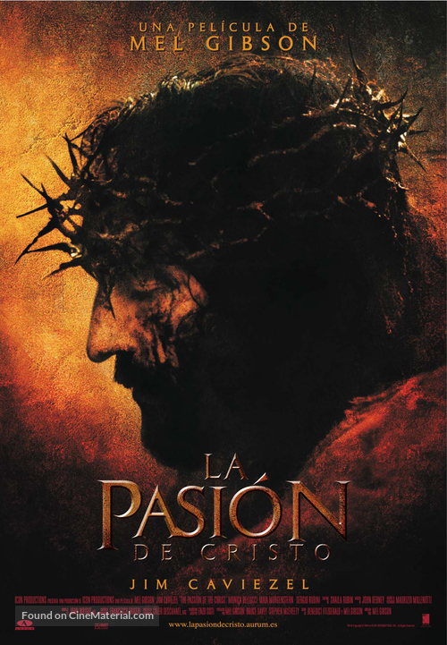 The Passion of the Christ - Spanish Movie Poster