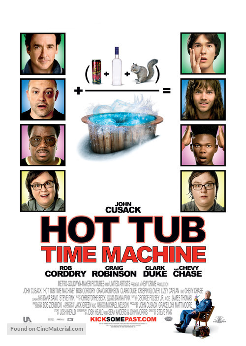 Hot Tub Time Machine - Movie Poster