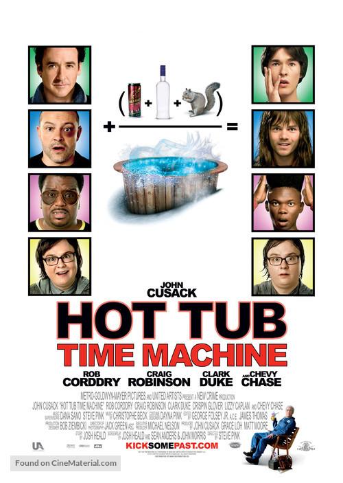 Hot Tub Time Machine - Movie Poster
