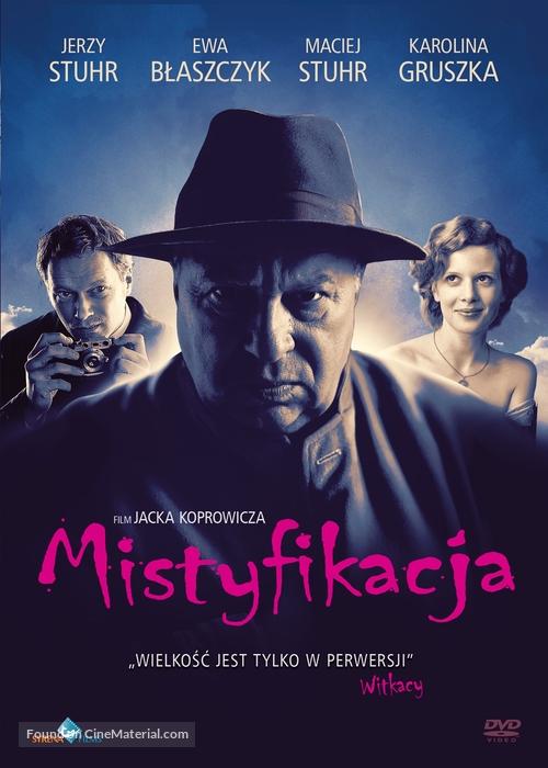 Mistyfikacja - Polish DVD movie cover