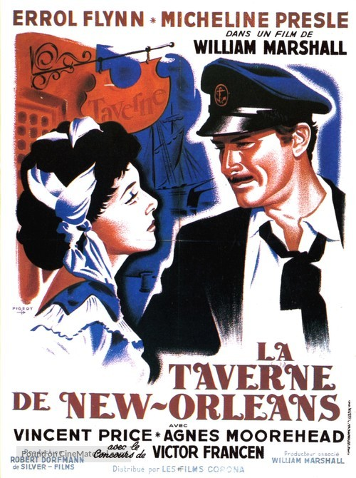 Adventures of Captain Fabian - French Movie Poster