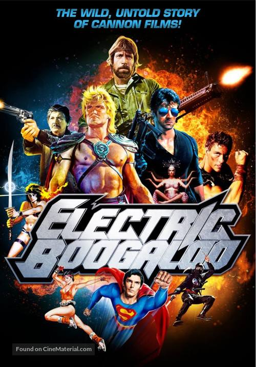 Electric Boogaloo: The Wild, Untold Story of Cannon Films - DVD movie cover