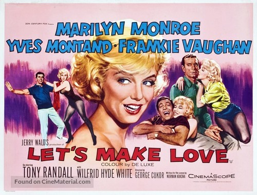 Let's Make Love - British Movie Poster