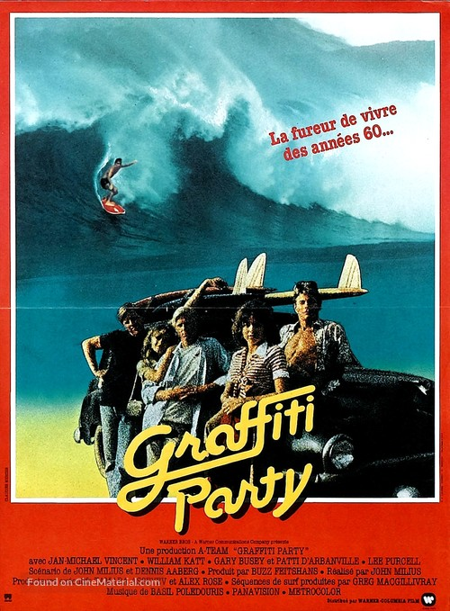 Big Wednesday - French Movie Poster