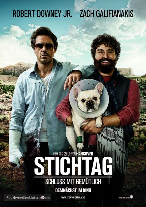 Due Date - German Movie Poster