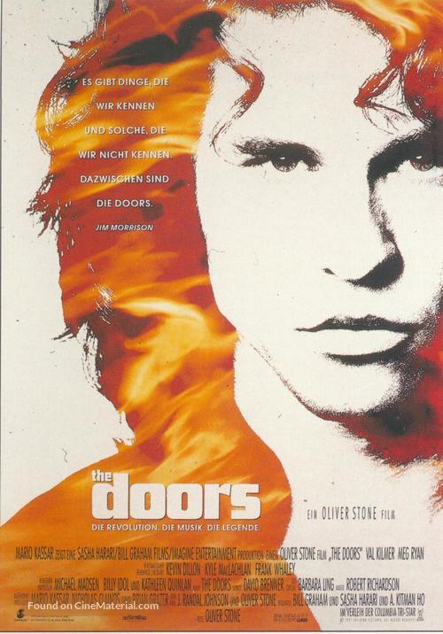 The Doors - German Movie Poster