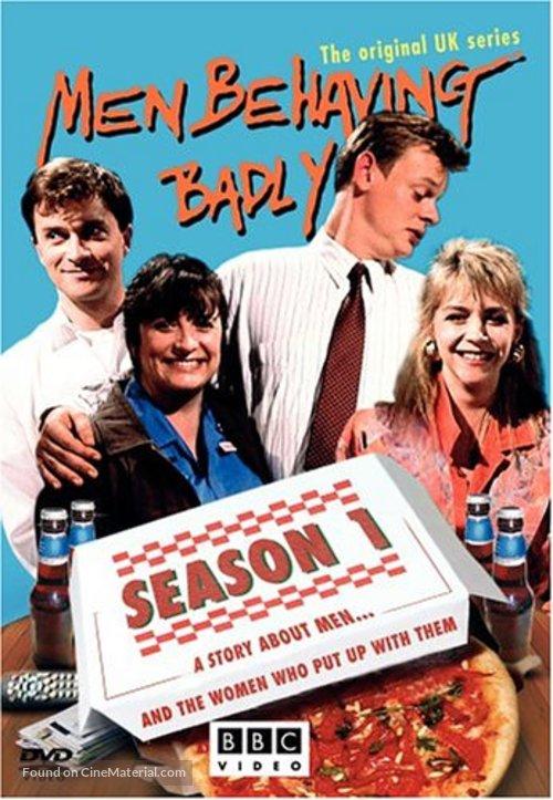 """Men Behaving Badly"" - British DVD movie cover"