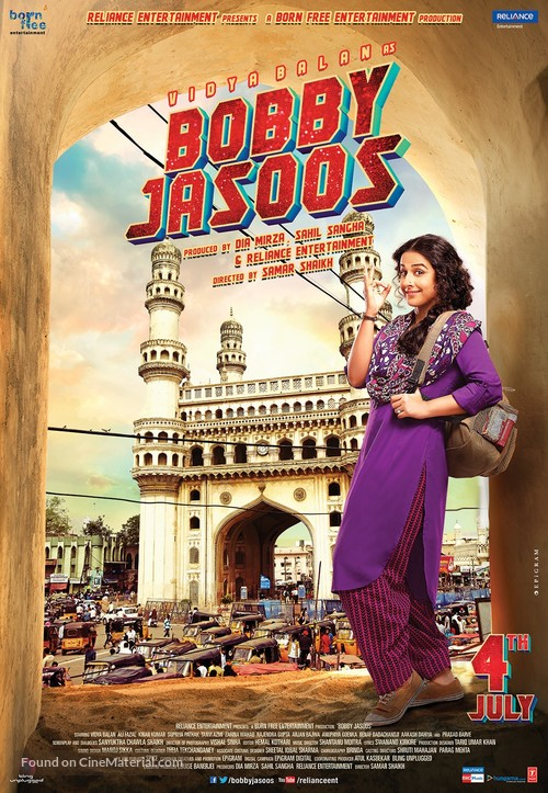 Bobby Jasoos - Indian Movie Poster