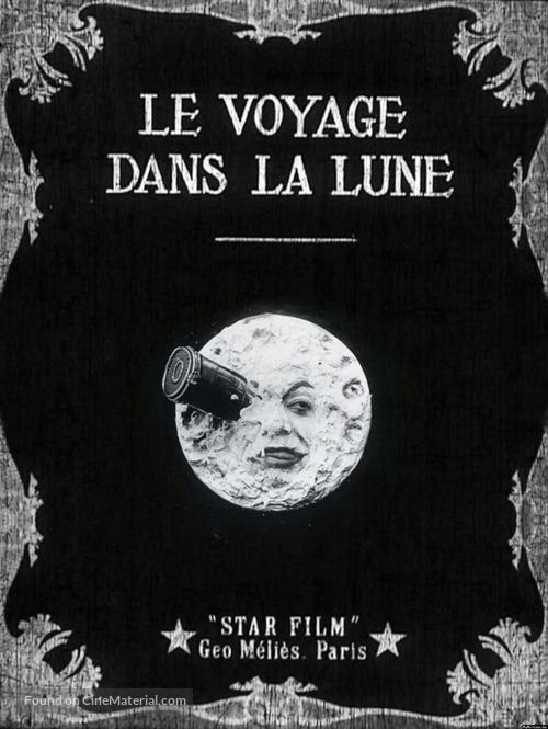 Le voyage dans la lune - French Movie Poster