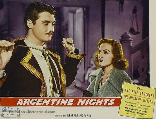 Argentine Nights - poster