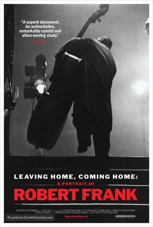 Leaving Home, Coming Home: A Portrait of Robert Frank - Movie Poster