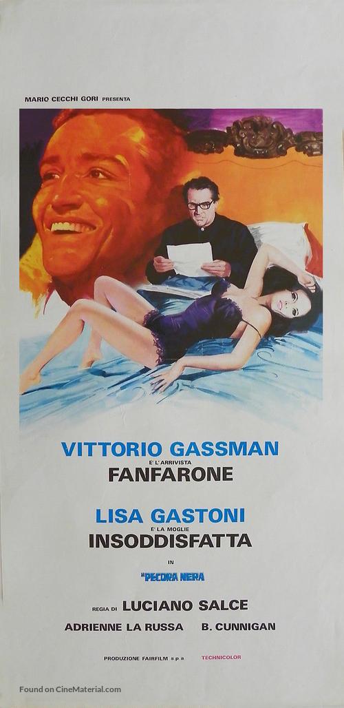 La pecora nera - Italian Movie Poster