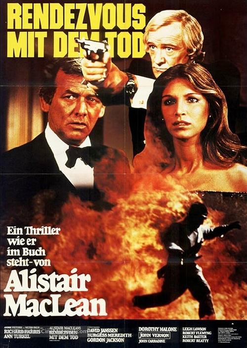 Golden Rendezvous - German Movie Poster