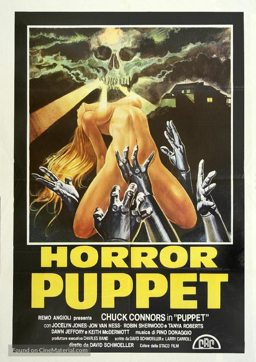 Tourist Trap - Italian Movie Poster