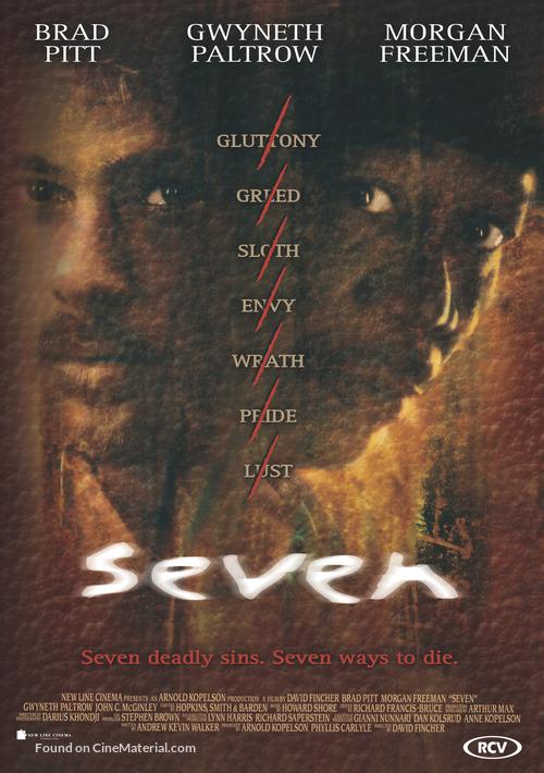 Se7en - Dutch Movie Poster