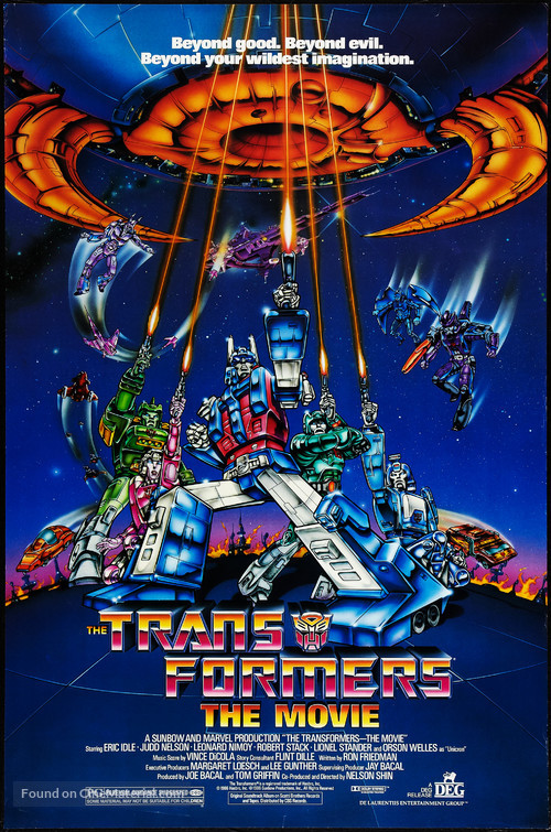 The Transformers: The Movie - Movie Poster