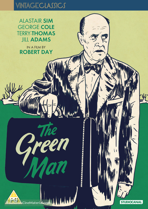 The Green Man - British DVD movie cover