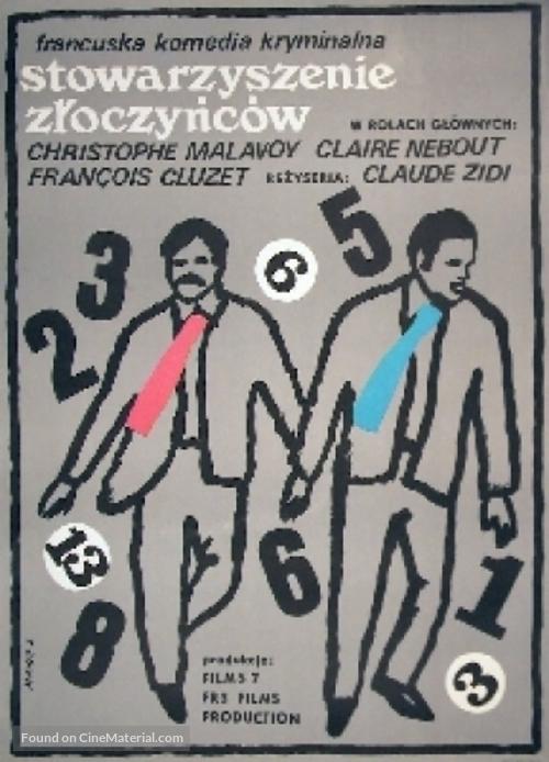 Association de malfaiteurs - Polish Movie Poster