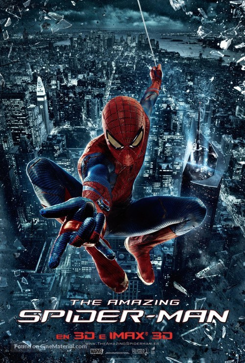 The Amazing Spider-Man - Spanish Movie Poster