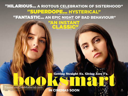 Booksmart - British Movie Poster