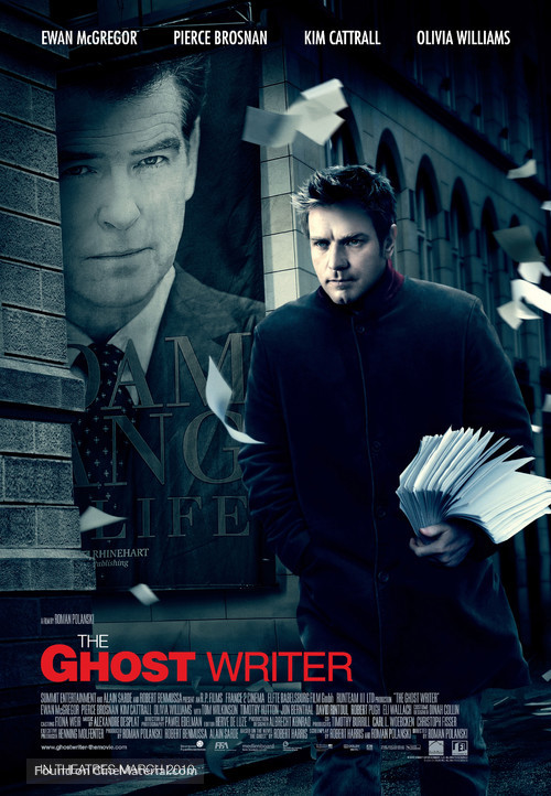 The Ghost Writer - Canadian Movie Poster
