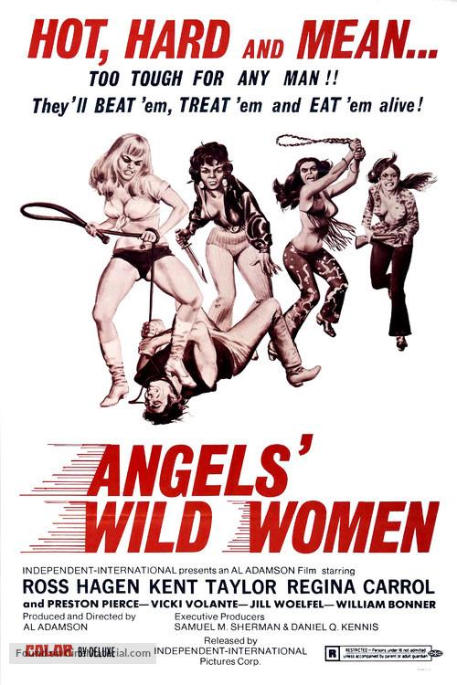 Angels' Wild Women - Theatrical movie poster