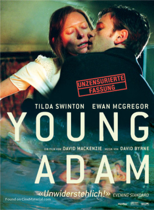 Young Adam - German Movie Cover