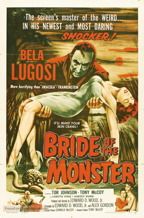 Bride of the Monster - Movie Poster