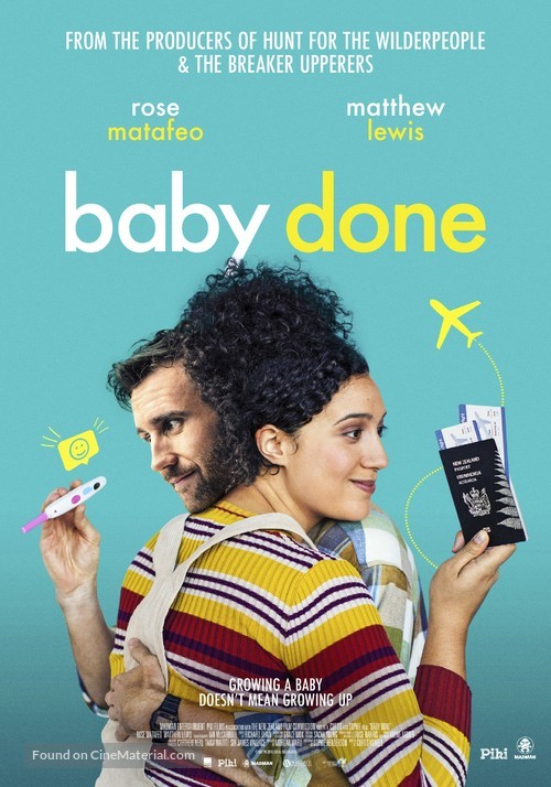 Baby Done - New Zealand Movie Poster