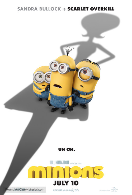 Minions - Movie Poster