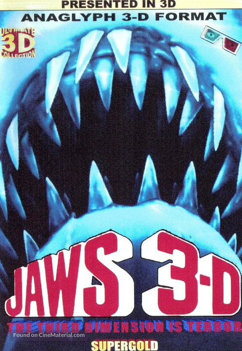 Jaws 3D - Movie Poster