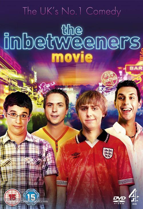 The Inbetweeners Movie - British DVD movie cover