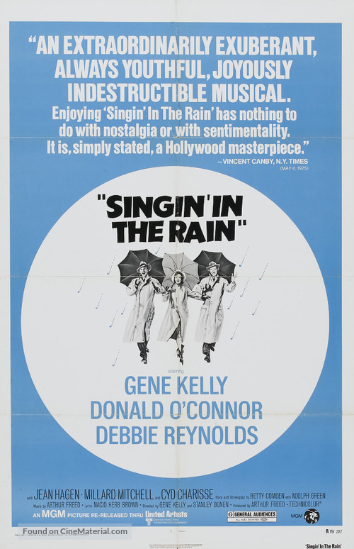 Singin' in the Rain - Movie Poster