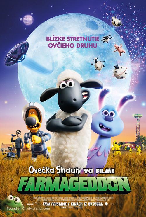 A Shaun the Sheep Movie: Farmageddon - Slovak Movie Poster