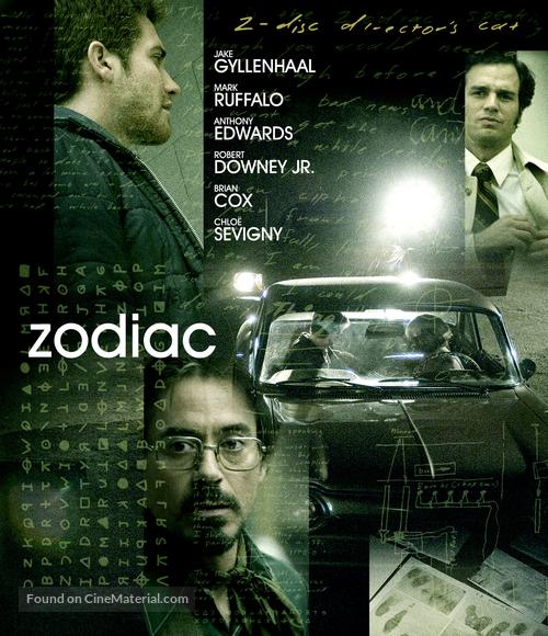 Zodiac - Blu-Ray movie cover