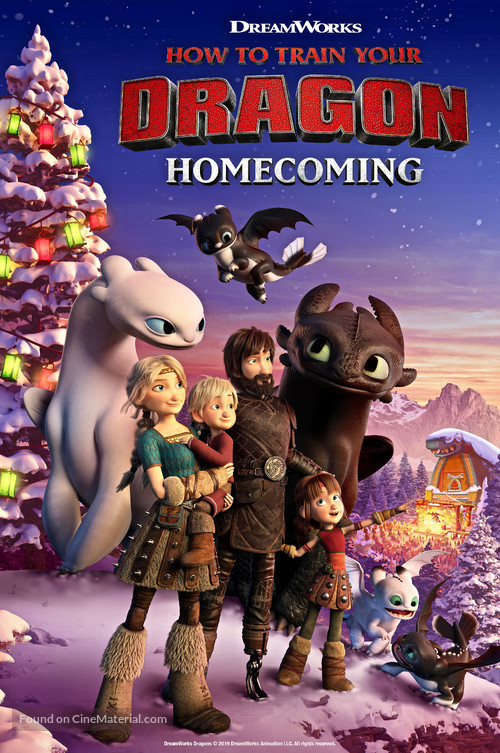 How to Train Your Dragon Homecoming - Movie Poster