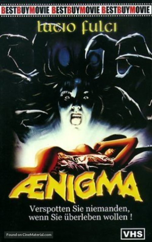 Aenigma - German VHS movie cover