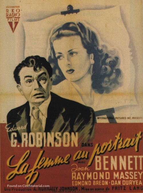 The Woman in the Window - French Movie Poster