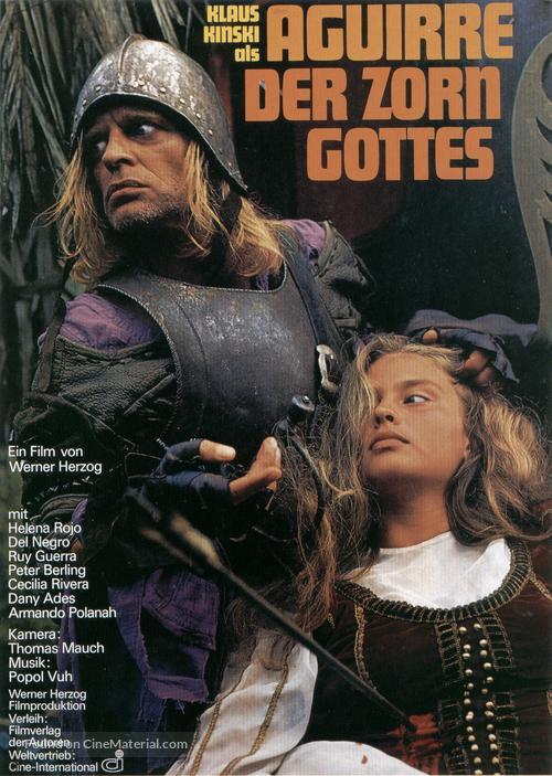 Aguirre, der Zorn Gottes - German Movie Poster