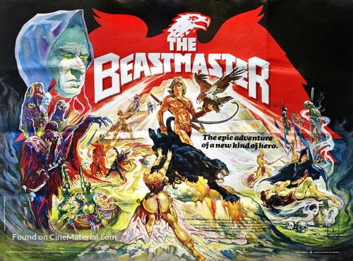 The Beastmaster - British Movie Poster
