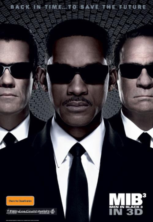 Men in Black 3 - Australian Movie Poster