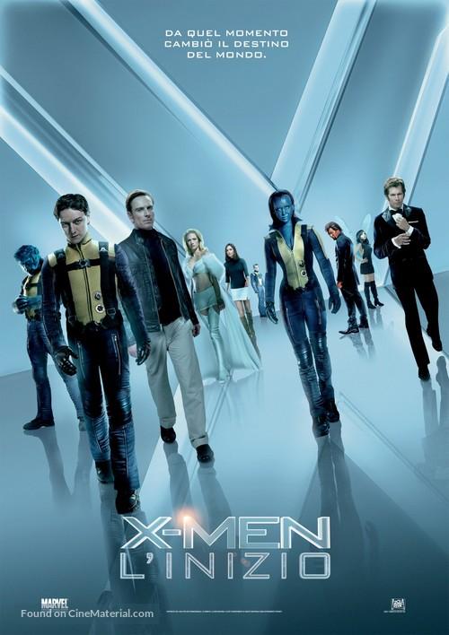 X-Men: First Class - Italian Movie Poster