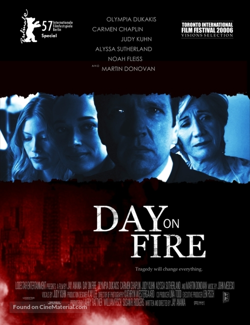 Day on Fire - poster