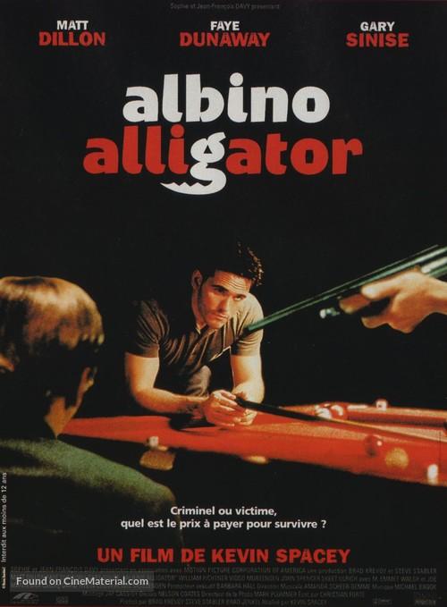 Albino Alligator - French Movie Poster