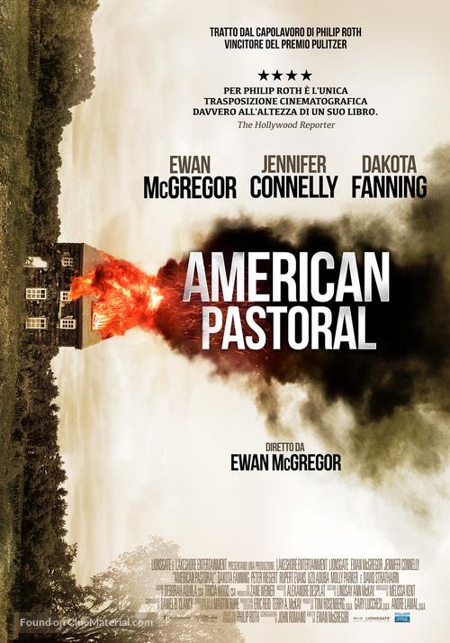 American Pastoral - Italian Movie Poster