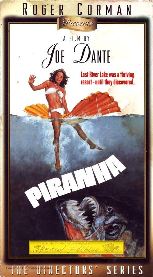 Piranha - VHS movie cover
