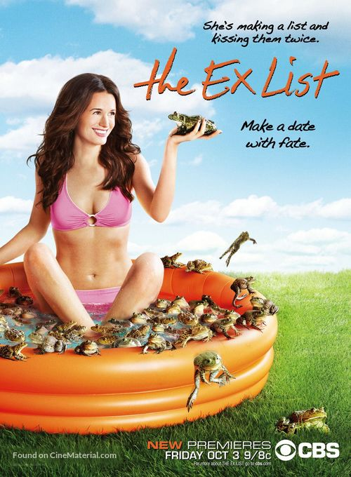 """""""The Ex List"""" - Movie Poster"""
