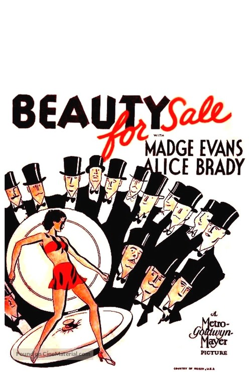 Beauty for Sale - Movie Poster