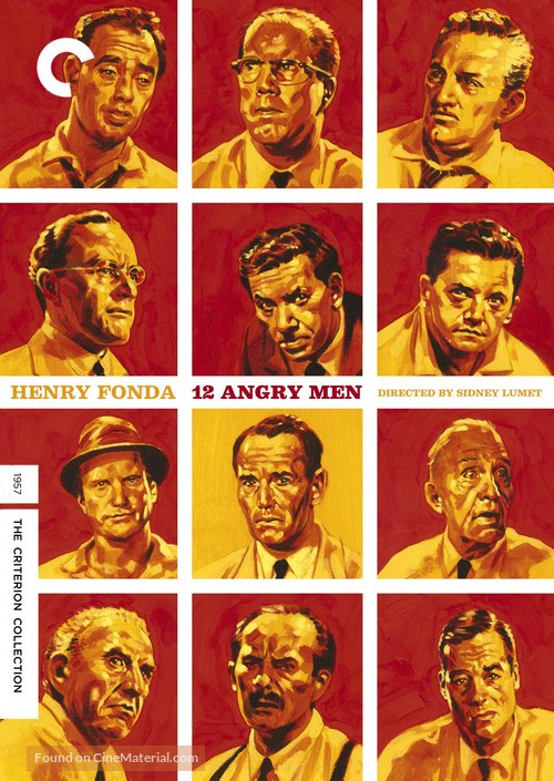 12 Angry Men - DVD movie cover