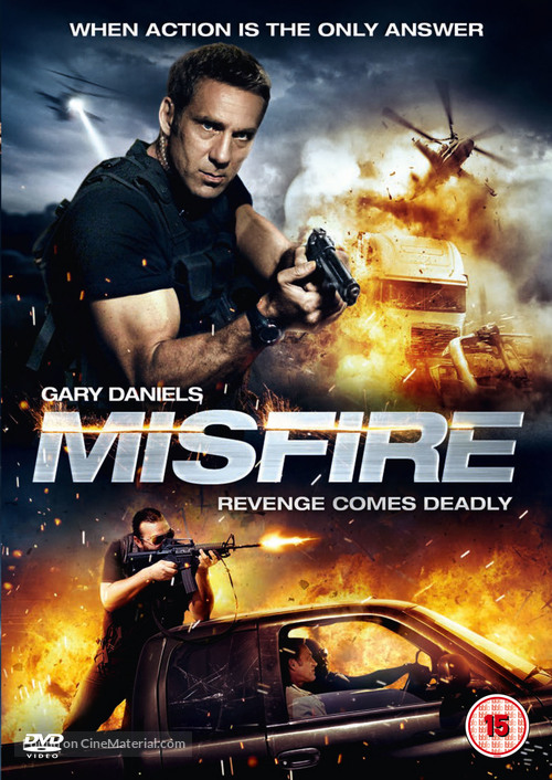 Misfire - British DVD cover
